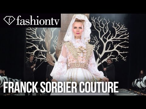 Franck Sorbier Spring/Summer 2014 FULL SHOW | Paris Couture Fashion Week | FashionTV