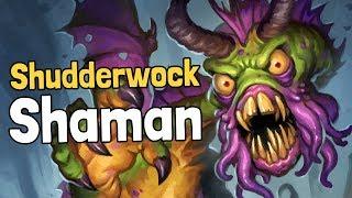 Shudderwock Shaman Decksperiment - Hearthstone