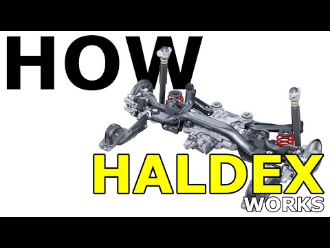 How Haldex (AWD) All Wheel Drive Works