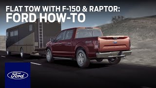 How to Flat-Tow: F-150 and F-150 Raptor | Ford How-To | Ford