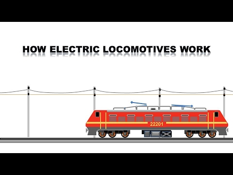 How an electric locomotive works - YouTube
