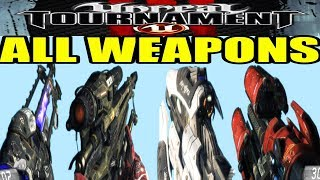 uNREAL TOURNAMENT 3 ALL WEAPONS