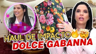 MEGA HAUL EXCLUSIVO👠👗 PRODUCTOS DE DOLCE & GABBANA Y GUCCI 😱💍💎 | Camila Guiribitey