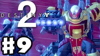 Destiny 2 - gameplay walkthrough part 9 - thumos the unbroken boss fight! (ps4 pro)