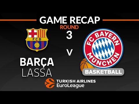 Highlights: FC Barcelona Lassa - FC Bayern Munich
