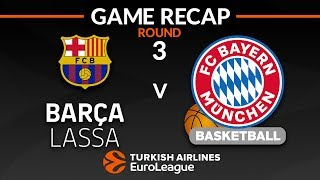 Subscribe to euroleague ► http://bit.ly/subscribeeuroleague watch more highlights from turkish airlines here http://bit.ly/euroleaguehighlights ...
