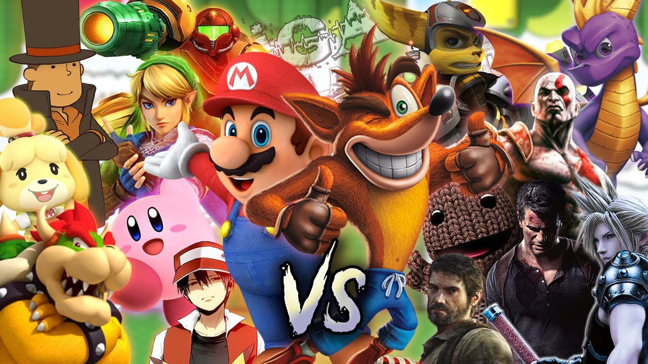 Nintendo vs PlayStation. Liga de las Batallas de Rap || MegaR (Prod. Hollywood Legends)