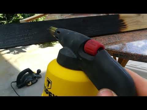 "Custom floor trims DIY Part 1 ""Burning the wood"""