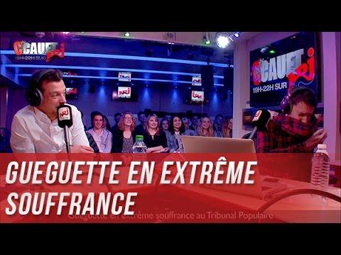 Gueguette en extrême souffrance au Tribunal Populaire - C'Cauet sur NRJ