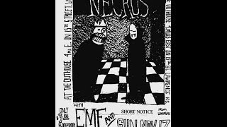 Necros Live @ Outhouse, Lawrence Ks 11 17 85
