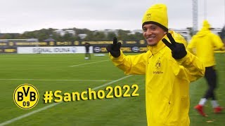 #Sancho2022   Jadon Sancho extends contract with BVB!