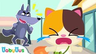Mèo con Mimi gặp người lạ   Bài học an toàn - Kỹ năng sống   Nhạc thiếu nhi vui nhộn   BabyBus