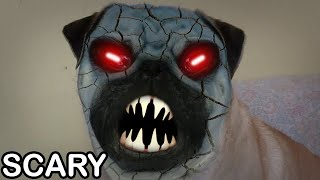 Demon Pug Dog (scary Face)