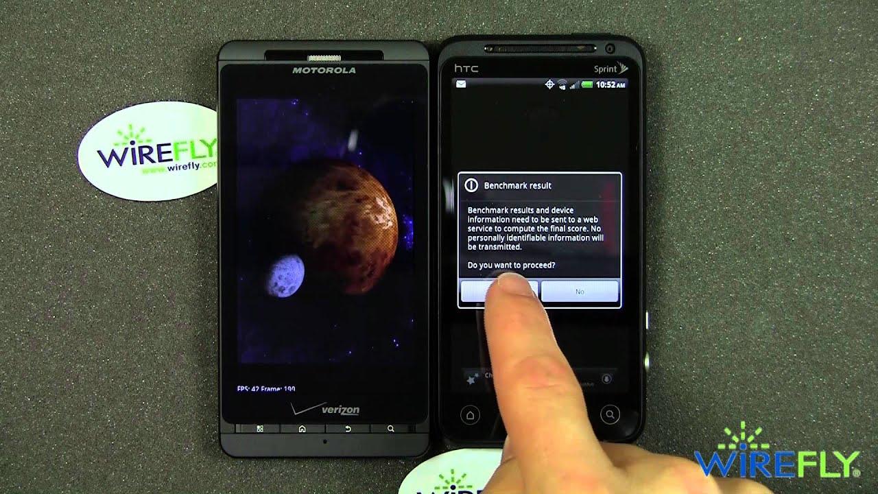 HTC Evo 3D Test