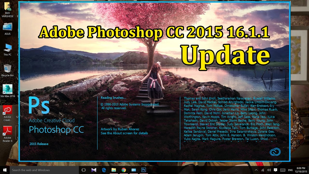 How To Get Photoshop CC 2015 V16.1.1 (including Oil paint)