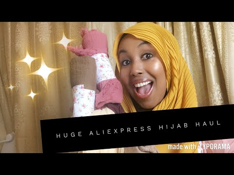 Cheap And Affordable Aliexpress Hijabs Haul! 🧕