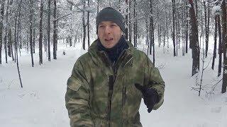 Обзор утепленного костюма Горка на флисе с мембраной от камуфляж.ру