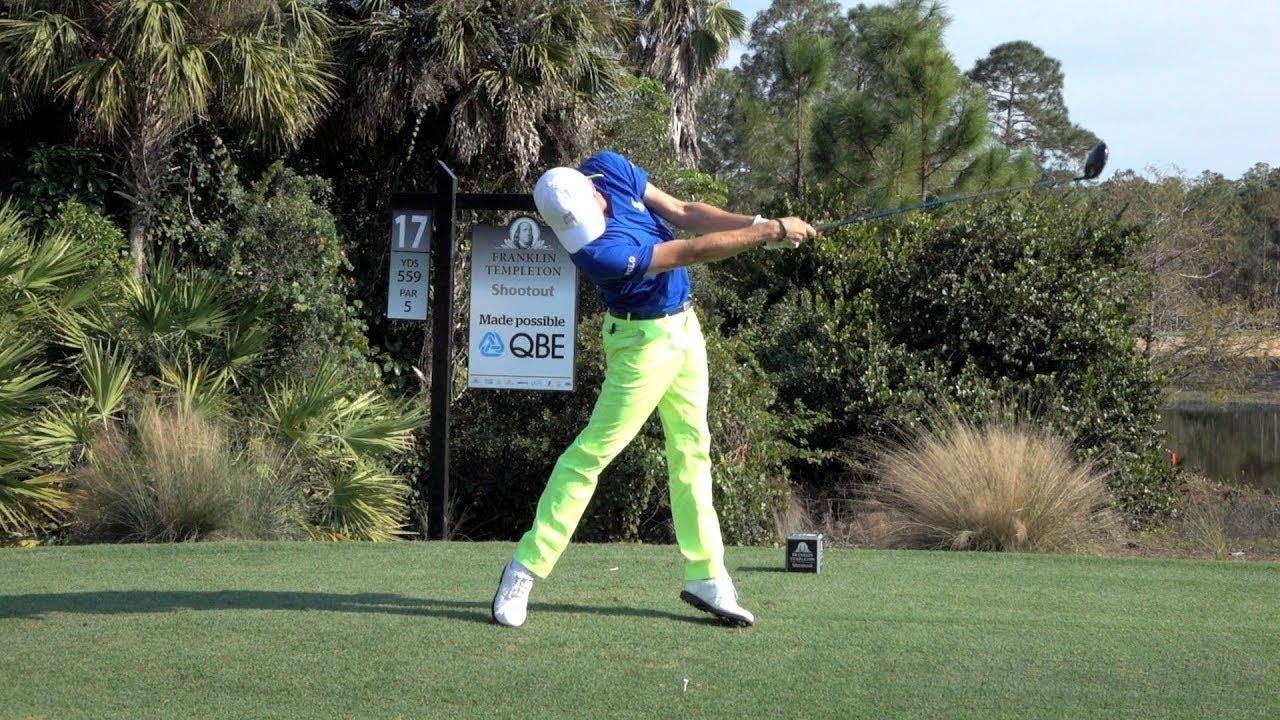 Benefits of slow-motion golf swing iron