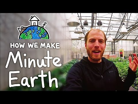 How We Make MinuteEarth Videos (Behind the Scenes)