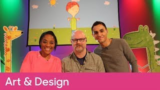 Full Cbeebies Pablo Live Lesson EXTRA | Primary Art and Design