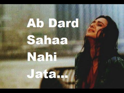 Apni Mohabbat Pe Rulaaunga Tujhe...Dard Bhari, Heart Touching Hindi Shayari Video