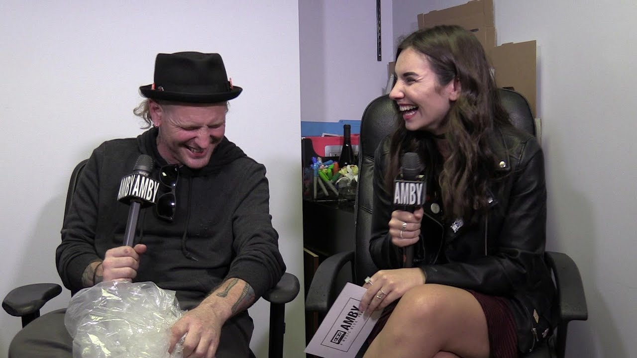 Interview With Corey Taylor Of Slipknot And Stone Sour Youtube