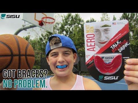 SISU MOUTHGUARD for BRACES / UltraThin / Talk BREATHE Drink