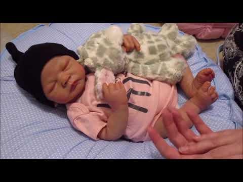 *Reborn Baby Emily Webb* Chit Chatting with Reborned Ashton Drake doll