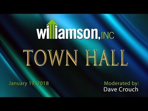 Williamson, Inc. Town Hall - January 2018