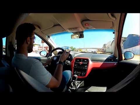 Fiat Punto Tjet - Acelerando e mostrando o carro