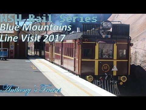 NSW Rail Series: Blue Mountains Line Visit 2017
