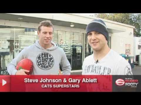 Gary Ablett vs Steve Johnson challenge