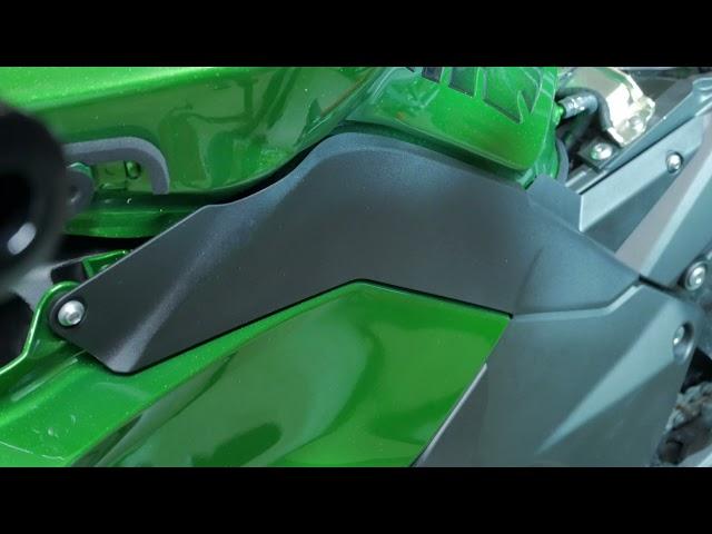 How to: Removing the Kawasaki Ninja 1000SX Fairings ready for upgrades. (mirrow RevsIT) 2020 2021