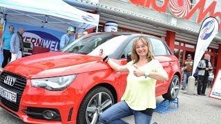 Media-Markt-Gewinnspiel: Sabine Dillmann gewinnt Audi A1