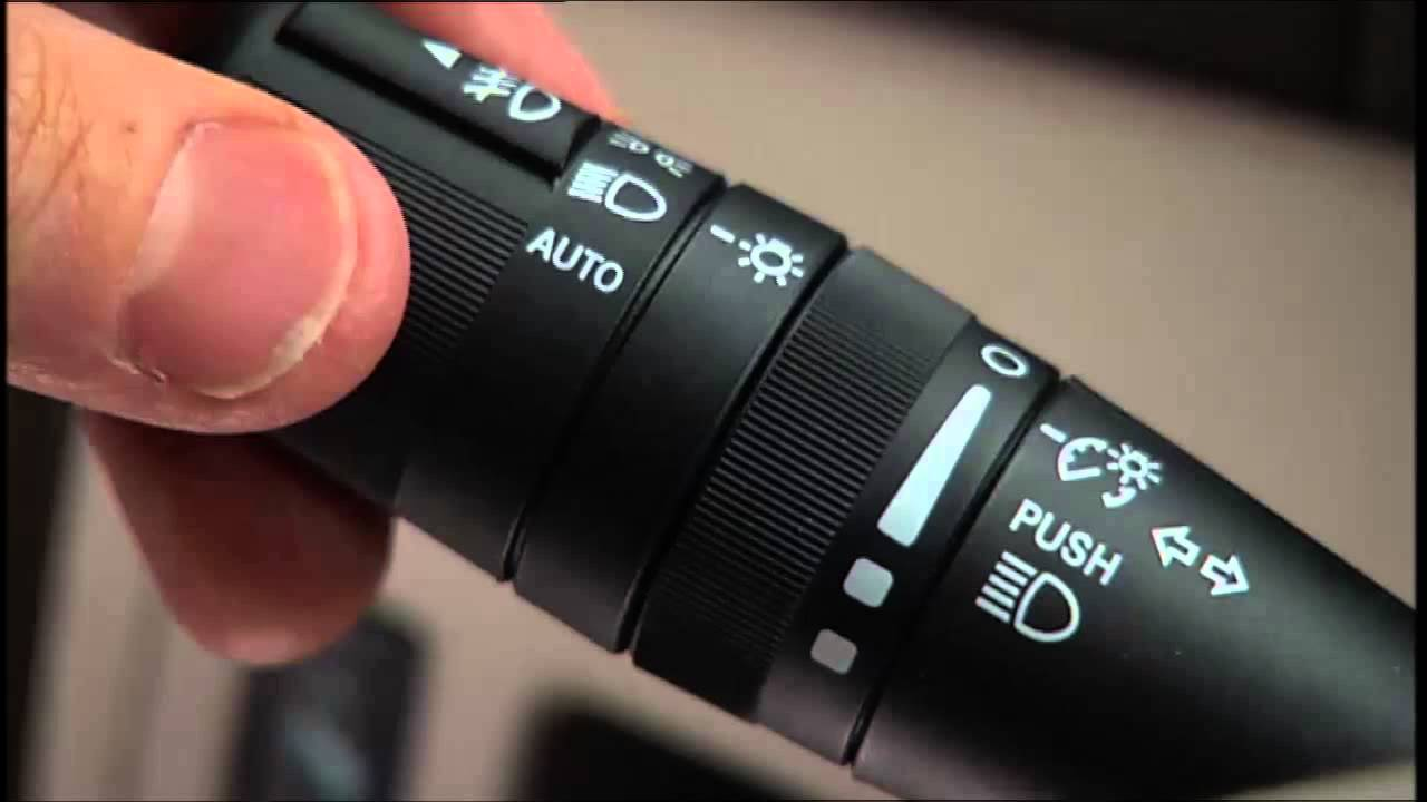 2014 Chrysler 200 Light Dimmer Control Amp Fog Lights Youtube
