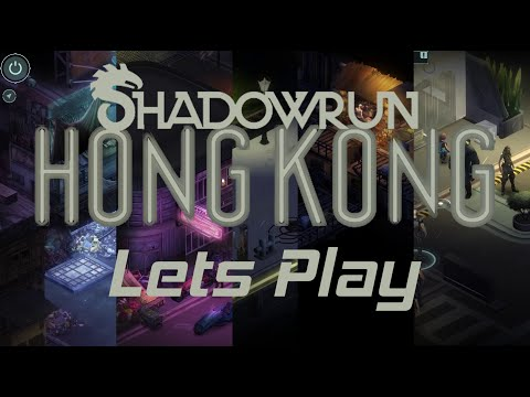 Shadowrun: Hong Kong - Let's Play - Track Down A Serial Killer