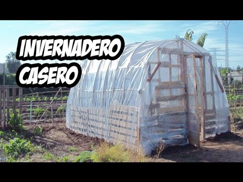 Como hacer un invernadero casero paso a paso youtube - Invernadero casero terraza ...