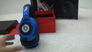 Beats By Dr Dre Excutive DJ Headphone In Big Black/Blue