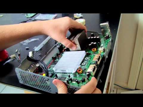 XBOX 360 RROD/E74 ULTIMATE REPAIR TUTORIAL! (Pt 2 of 2)