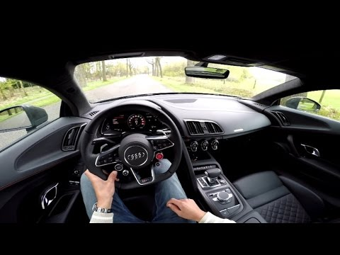 2016 Audi R8 V10 Plus How To Use Launch Control Youtube