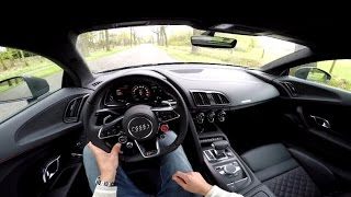 2016 Audi R8 V10 Plus: How To Use Launch Control