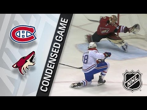 Montreal Canadiens vs Arizona Coyotes – Feb. 15, 2018 | Game Highlights | NHL 2017/18. Обзор