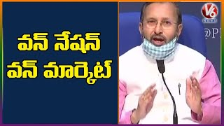 Moving To One Nation, One Market: Prakash Javadekar  Telugu News