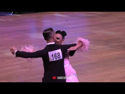 Ivan Varfolomeev - Yana Masharova RUS, Tango, WDSF GrandSlam Standard 2019