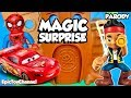 SURPRISE TOYS MAGIC Jake and the Neverland Pirates Surprise Eggs + Disney Cars toys Surprises