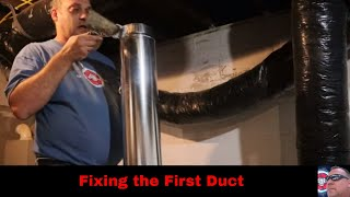 Fixing the First Duct
