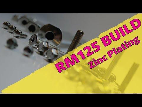 Zinc Plating Nuts & Bolts | '92 RM125 Build