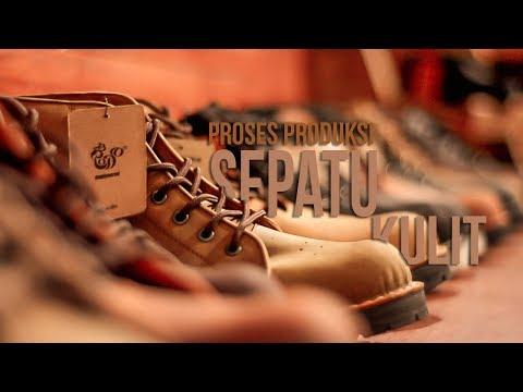 Proses Produksi Sepatu Boot Kulit Brodo