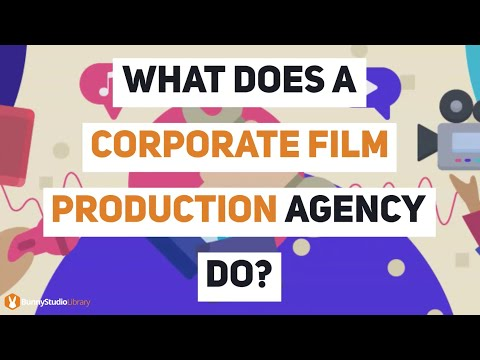 What Does A Corporate Film Production Agency Do?
