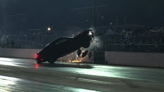 10 WILD Drag Racing MISHAPS in HD